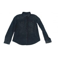Colorado Hemd Langarm Joshua Denim Shirt dark blue washed