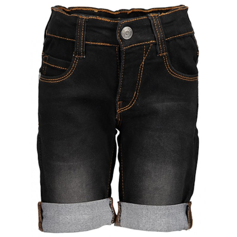 c106bfe7c2f1 Blue Seven Jungen Jog-Jeans Bermuda Shorts kurze Hose schwarz