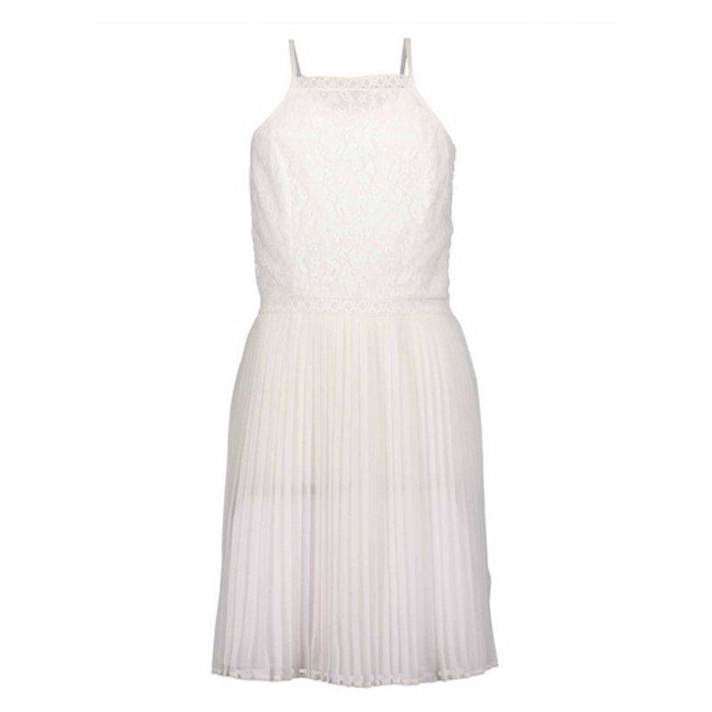 info for ad5a5 07c29 Blue Seven Mädchen Trägerkleid Kleid mit Spitze Sommerkleid weiß