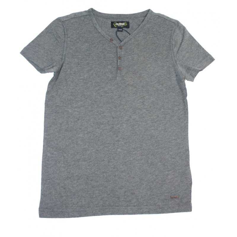 Colorado Denim Boys T Shirt M Knopfleiste Dark Grey 9 97