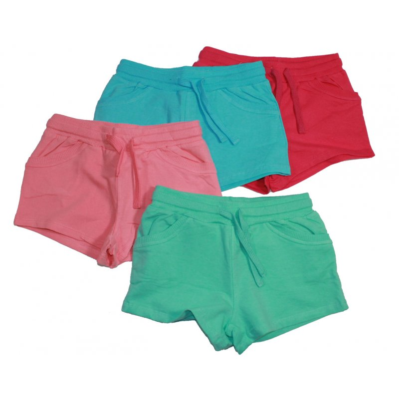 Losan Basic Sommershorts kurze Hose Mädchen Shorts in 4 Farben