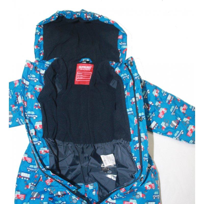 outburst jungen baby schneeanzug autos blau 39 95. Black Bedroom Furniture Sets. Home Design Ideas