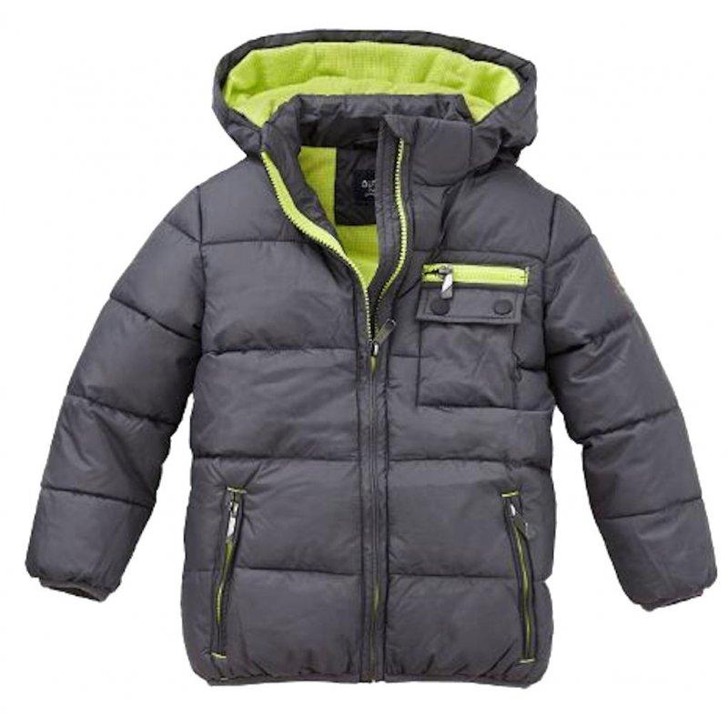 sale retailer 4229f 3249f Outburst Jungen Steppanorak Anorak Jacke Winterjacke anthrazit