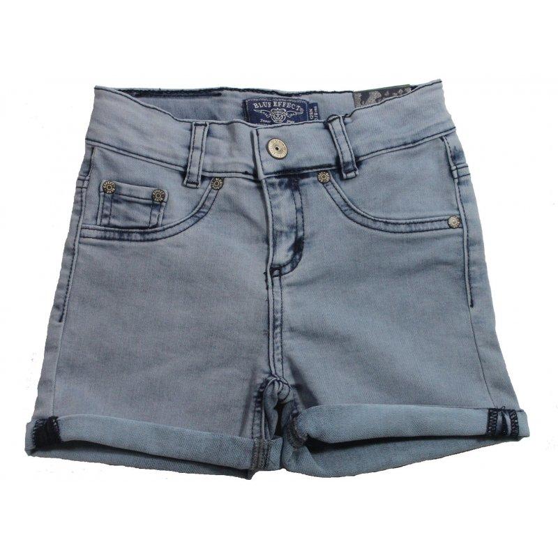 b5fe4eaeed7a blue effect girls Normal Shorts kurze Hose blue bleached