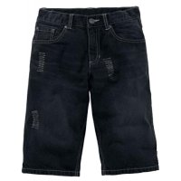 Arizona Jungen Jeans Bermuda Hose kurz Shorts black denim