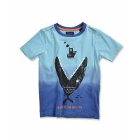 Blue Seven Big fish T-Shirt ocean
