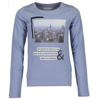 Blue Seven Mädchen Langarmshirt City dusty blue