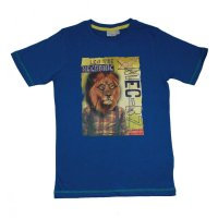 Blue Seven T-Shirt Shirt Löwe Collage ocean blue