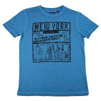 Blue Seven T-Shirt washed blue New York