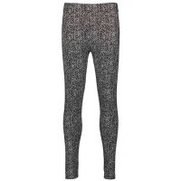 Blue Seven warme Leggings Muster schwarz