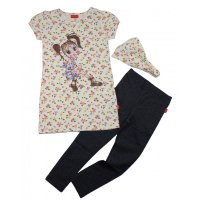 CFL 3tlg. Set T-Shirt Leggings Haarband (495407) Gr. 104