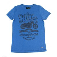 Colorado Denim boys Motorrad T-Shirt strong blue