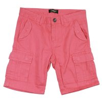 Colorado Kemal Boys Cargo Bermuda Shorts coral