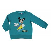 Disney Mickey Mouse Sweatshirt Pullover teal