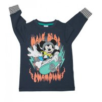 Disney Mickey Mouse Sweatshirt blau