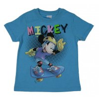 Disney Mickey Mouse T-Shirt hellblau