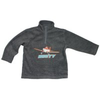 Disney Planes Fleecetroyer Fleece Pullover Dark Grey Melange