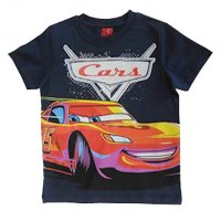 Disney cars T-Shirt dunkelblau