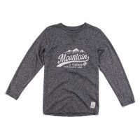 Jake Fischer Langarmshirt Mountain grey melange