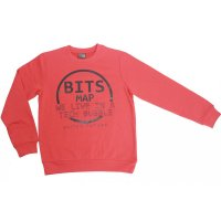 Losan Jungen Sweatshirt Pullover BTTS Map naranja orange