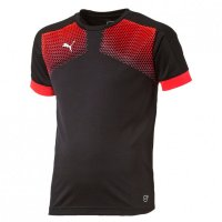 PUMA T-Shirt IT evoTRG Junior Graphic Tee Touch black-red...