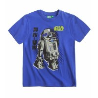Star wars-The Clone wars 2er Pack T-Shirt blau+weiß