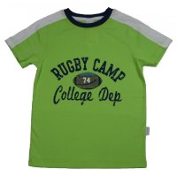 Stummer T-Shirt hellgrün Rugby camp