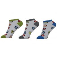 Ysabel Mora Kindersocken Sneakers Billard 3er Pack Socken...