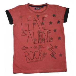 Blue Seven Jungen T-Shirt Leave me alone cranberry rot