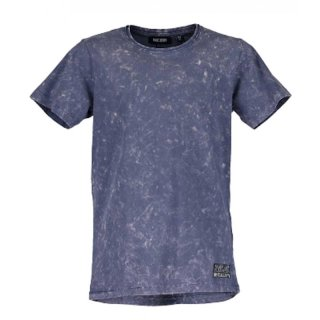 Blue Seven Jungen T-Shirt New Reality washed look indigo blau