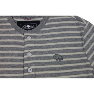 Colorado Ignaz Boys T-Shirt gestreift grey melange