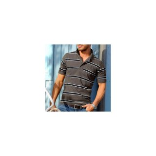 Grey connection Poloshirt pikee (850867) oliv schwarz Gr. 40/42 (164)